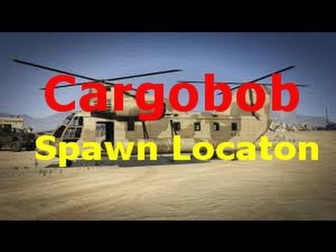 How to get cargobob in gta online pegasus
