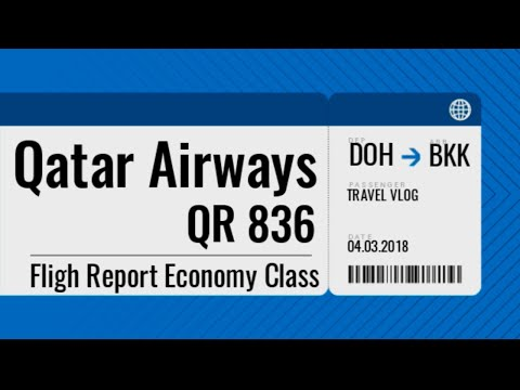 Flight Report Qatar Airways QR836 Doha Bangkok Airbus A380-800 | WN Vlog