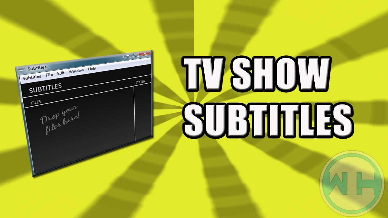 How to download subtitles of any tv show or movie youtube.