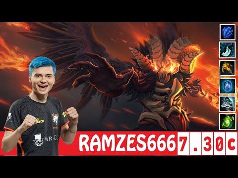[DOTA 2] RAMZES666 The DOOM [OFFLANE] [7.30c]