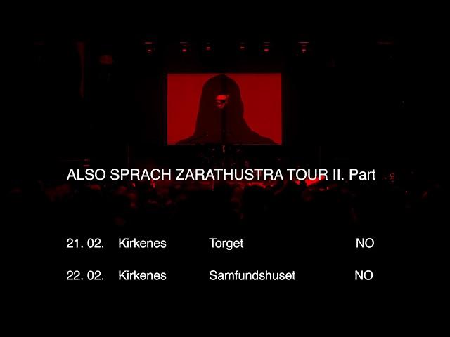 LAIBACH ZARATHUSTRA TOUR 2018 part 2