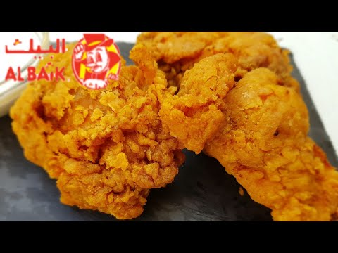 original-recipe-of-al-baik-chicken-with-garlic-dip-||-yummy-crispy-fried-chicken-||-البیک-چکن