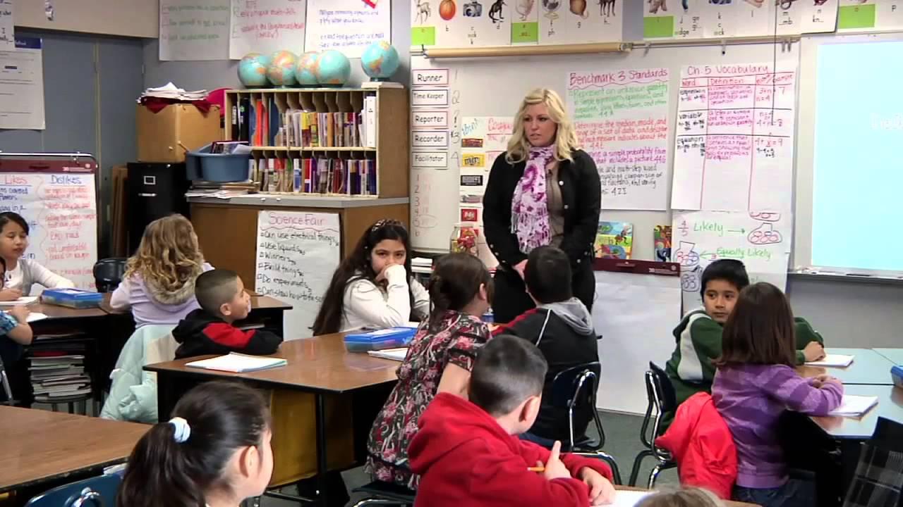 Classroom Clips 4th Grade Math Kelli Mays Part 1