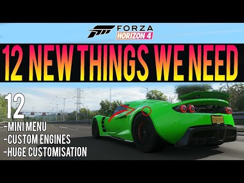 Forza Horizon 4 - 12 New Features We Need! - New Ideas, Add-Ons & More! thumbnail