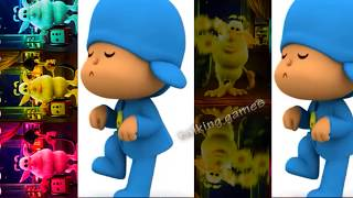 Baby Learn Colors with Talking Booba Colours for Kids Animation Cartoon Pocoyo
