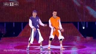 Chris & Wes Got to Dance finals