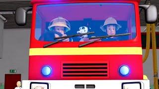 Аварийная ситуация в пожарной машине! | Пожарный Сэм | Новые серии 🔥 Мультфильмы | WildBrain