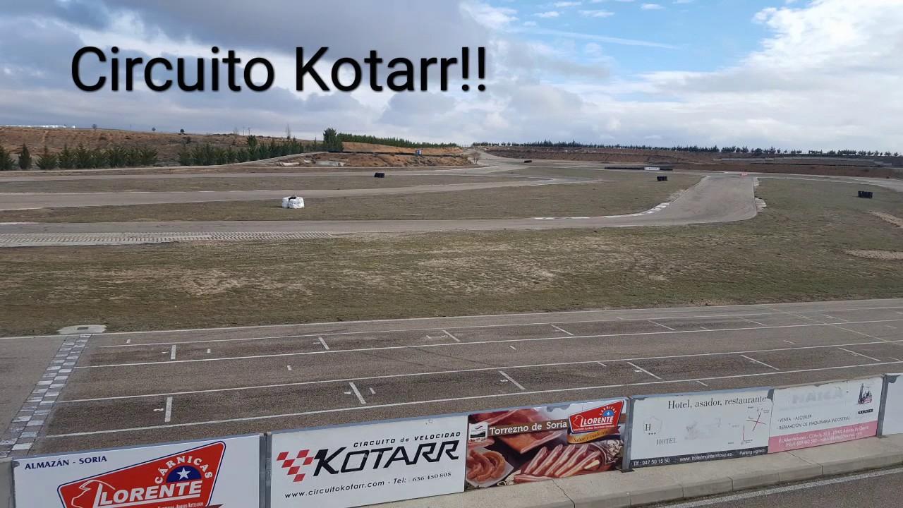 Circuito Kotarr : Circuito kotarr karting youtube