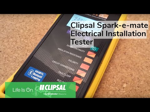 Clipsal Spark-e-mate Electrical Installation Tester