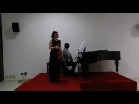 Gabriel Fauré Sonata Nro 1 en La Mayor Op. 13 para violín y piano
