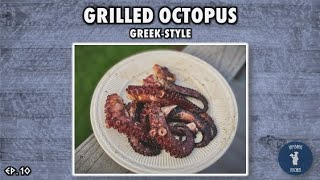 How to Make Grilled Octopus (Greek-Style Recipe)