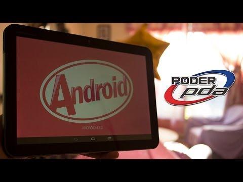 Android Kitkat 4.4.2 en Motorola Xoom