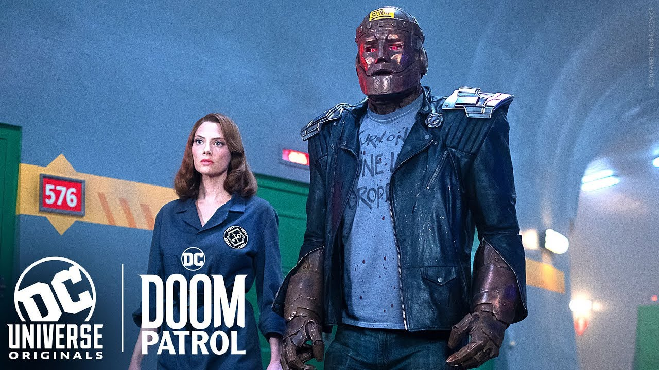 Doom Patrol Cyborg Patrol Dcu Universe The Ultimate