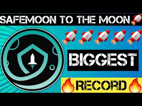 🤑Safemoon Wallet New Record🤑 | Safemoon Coin Future | Cryptocurrency News Today