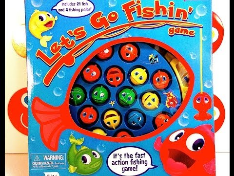 Let 39 s go fishin game youtube for Go fish games