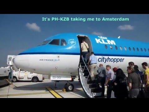 KLM Cityhopper +Aer Lingus/Dusseldorf-Amsterdam-Dublin/Economy/Fokker70+A320/SEP2014