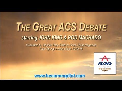 ACS Debate Rod and John - 2016