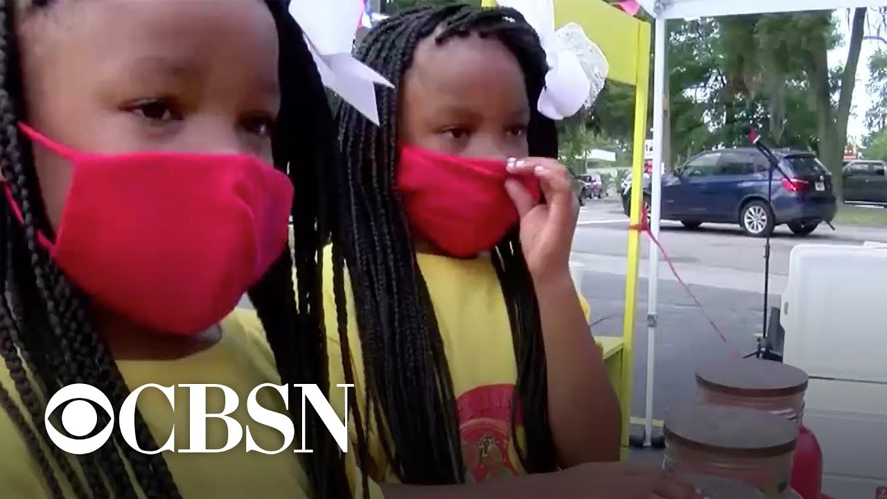 7-year-old twins reopen successful lemonade stand after questions about permit