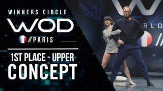 Concept   1st Place Upper Division    World of Dance Paris Qualifier 2018   Winner's Circle