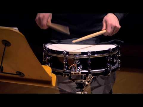delécluse: étude 1 for snare drum