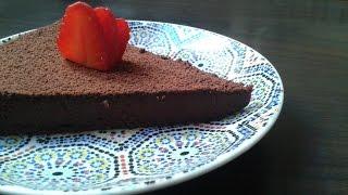 Gâteau au Chocolat et Pois chiches /  كيك الشوكولاطة والحمص