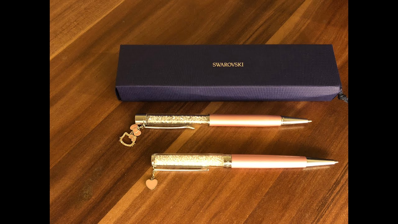How to change pen refill for Swarovski pen (old and new version) I justGrace