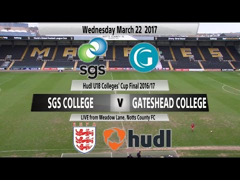 Hudl Girls' U18 Colleges' Cup Final - South Gloucestershire & Stroud College v Gateshead College