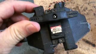 Hitec HS 645 MG Servo Test