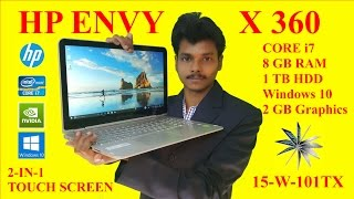 hp envy x360 laptop unboxing and review hindi