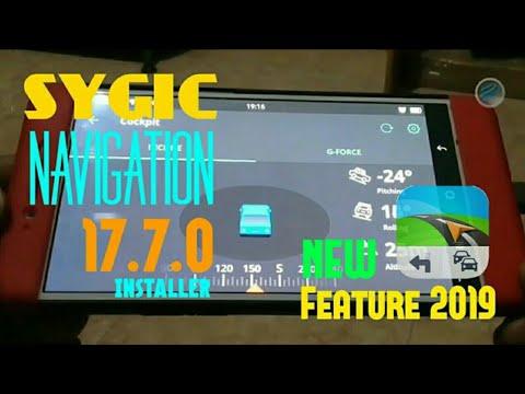 Cockpit Sygic Navigation 17 7 0 + Update Maps   Installer New Feature 2019