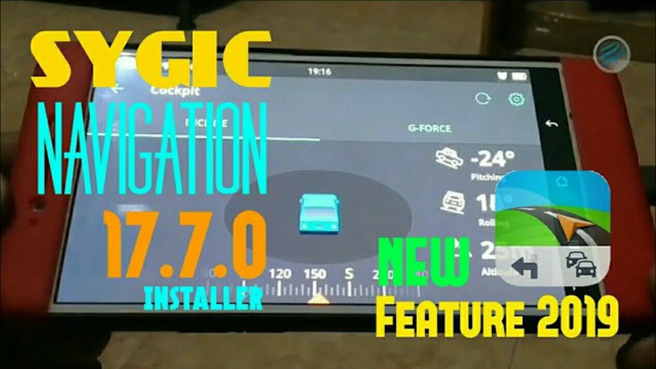 Cockpit Sygic Navigation 17 7 0 + Update Maps   Installer New Feature 2019  by Estiga Indomedia