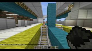 Minecraft new map Light Rail