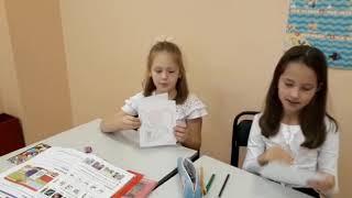 Урок английского в Школе Пилот