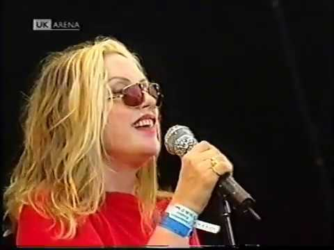 Blondie The Tide Is High Live Glastonbury 1999 Hq Youtube