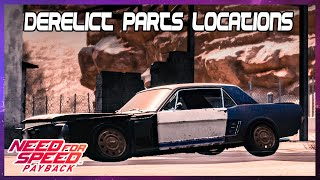 Hunt for first derelict car Ford Mustang 1965 - Need for Speed Payback (PS4)