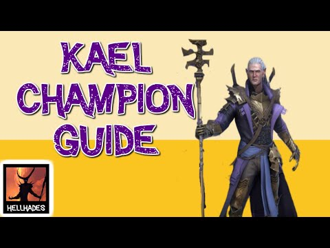 RAID: Shadow Legends   KAEL CHAMPION GUIDE   Best starter champion in the game! Viable endgame!