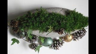 DIY Weihnachtliche Schale,in einem alten Ball leicht und schnell selber gießen/Christmas Cup