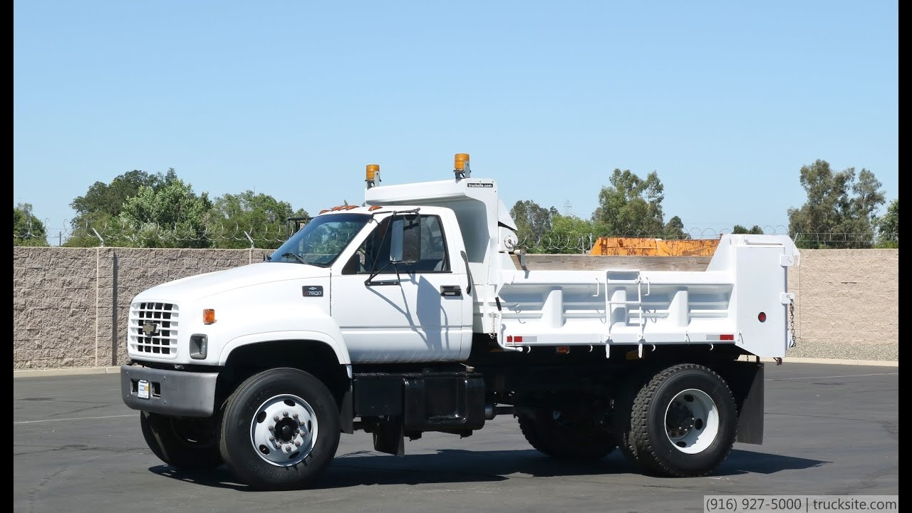 2018 gmc c7500. plain gmc 2001 chevrolet c7500 5 yard dump truck in 2018 gmc c7500 0