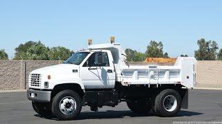 2001 Chevrolet C7500 5 Yard Dump Truck
