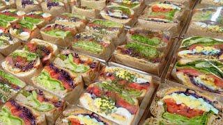 vlog | 중독성 역대급!! 대용량 카페 샌드위치 만…