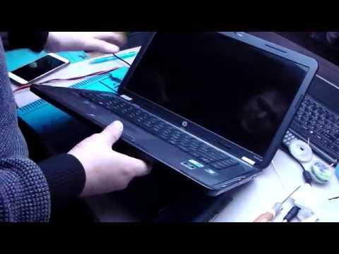 Загорается подсветка, но изображения нет - Ноутбук HP G6
