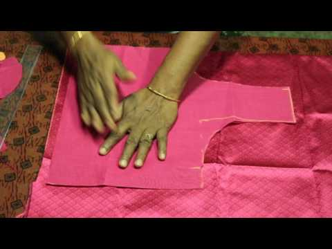 Lining Blouse cutting in Tamil part 2 - YouTube