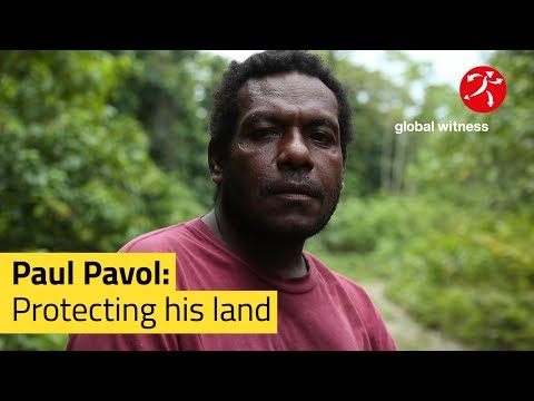 Paul Pavol: Protecting his land | Global Witness