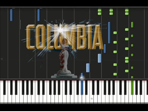 Columbia Pictures - Theme Song [Piano Cover Tutorial] (♫)