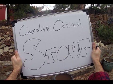 Brew Day - Chocolate Oatmeal Stout (advanced, BIAB)