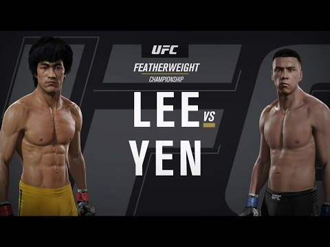 EA SPORTS UFC 2 Celebrity Deathmatch - Bruce Lee v Donnie Yen
