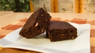 la mejor receta de brownies de chocolate receta postre dulce