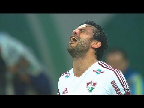 Fred faz gol e se emociona - Palmeiras x Fluminense