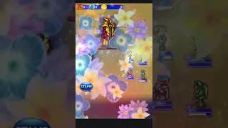 Ffrk raid The Sorceress gauntlets A+ 220 How to fight!