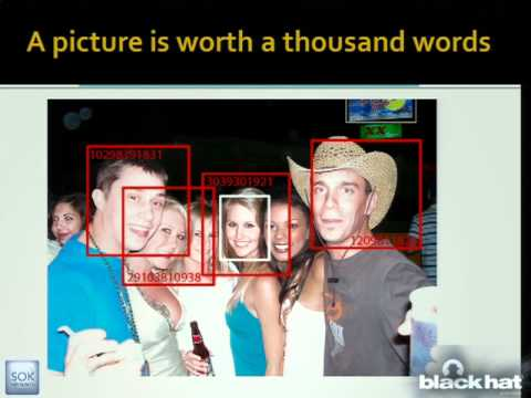 BlackHat USA 2011: Faces Of Facebook-Or, How The Largest Real ID Database In The World Came To Be